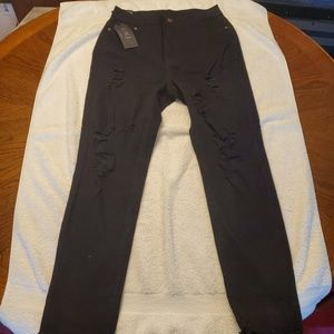 UWJ Ladies distressed jeans NWT
